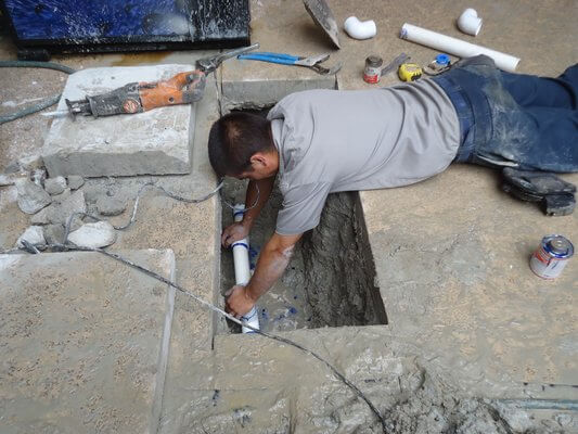 Slab Leak Repair-Suburban Plumbing Huntington Beach CA 92655