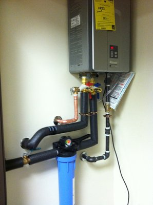 Tankless Water Heater-Suburban Plumbing Huntington Beach CA 92655